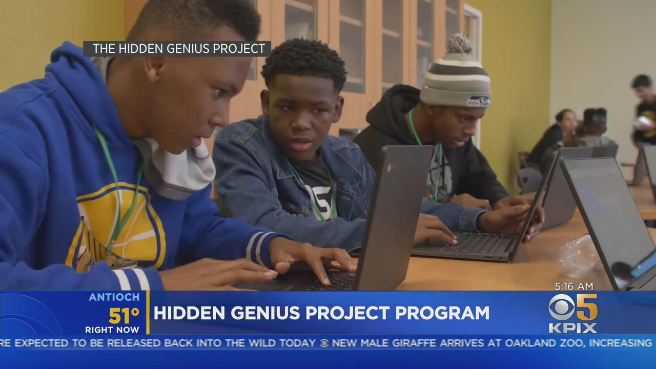 Oakland's Hidden Genius Project Expands Its Mentoring Reach