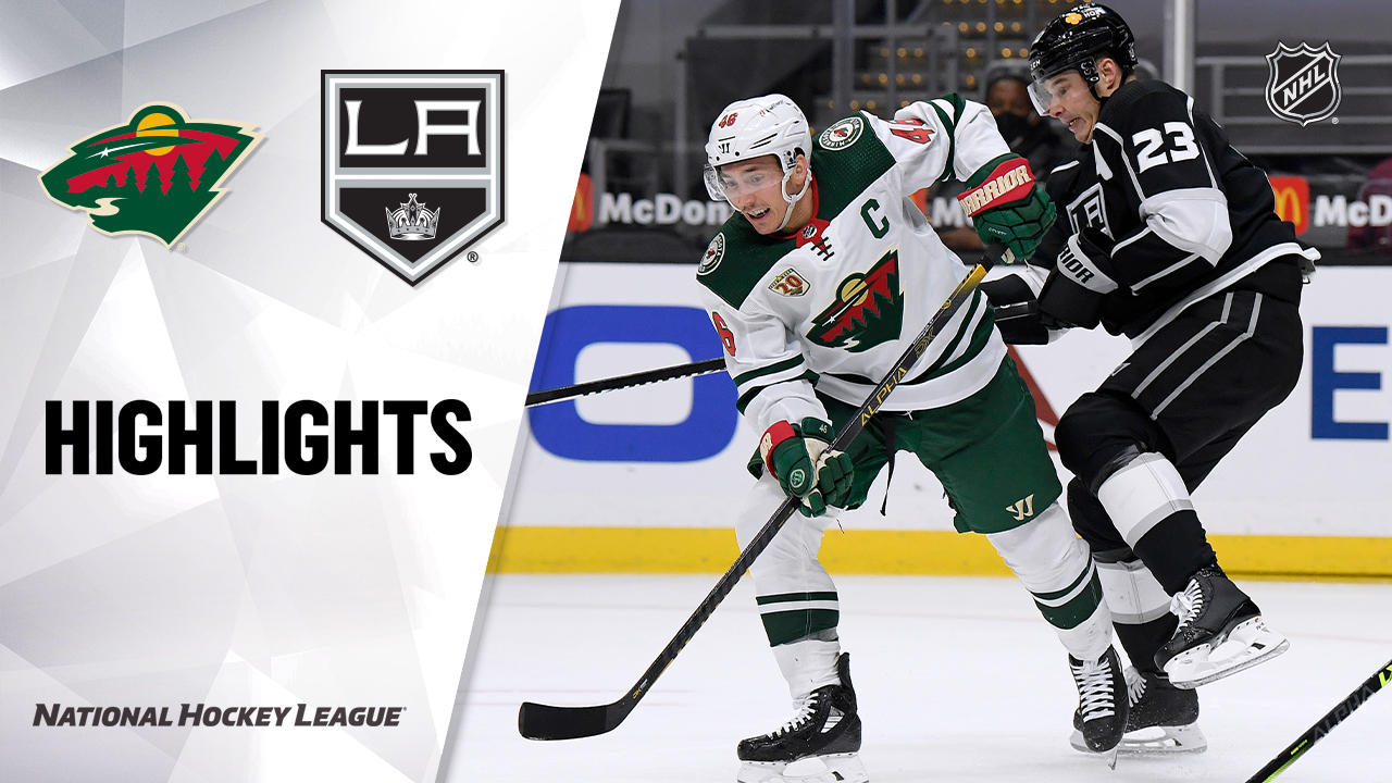Wild @ Kings 4/23/21 | NHL Highlights