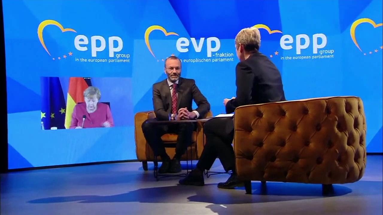 Merkel wants more EU self-reliance over Covid-19 vaccine production