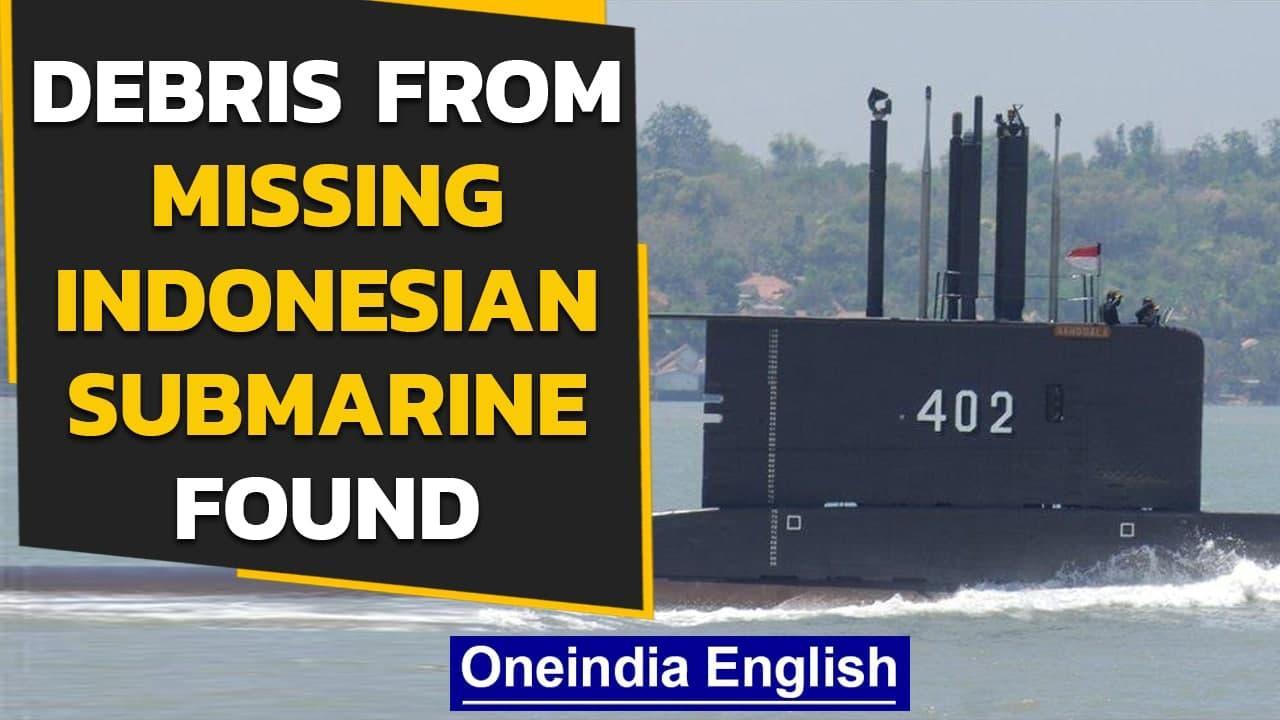 Indonesian missing submarine: Debris found, hopes fade   Oneindia News