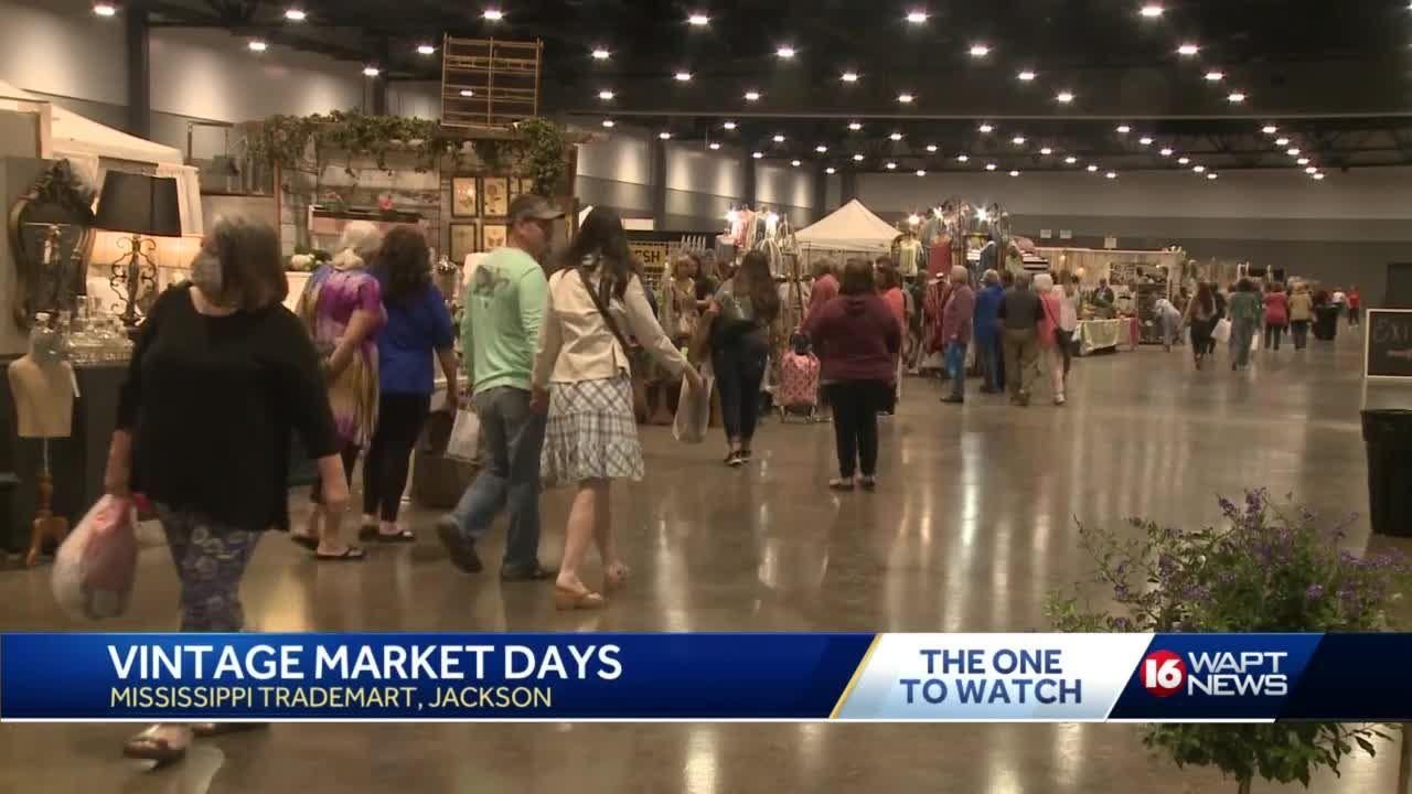 Vintage Market held in Jackson