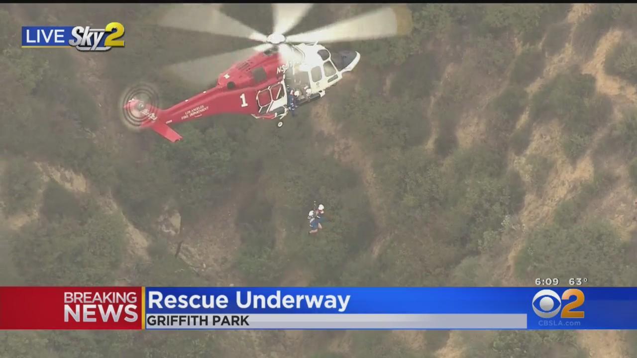 Griffith Park Hiker Rescue