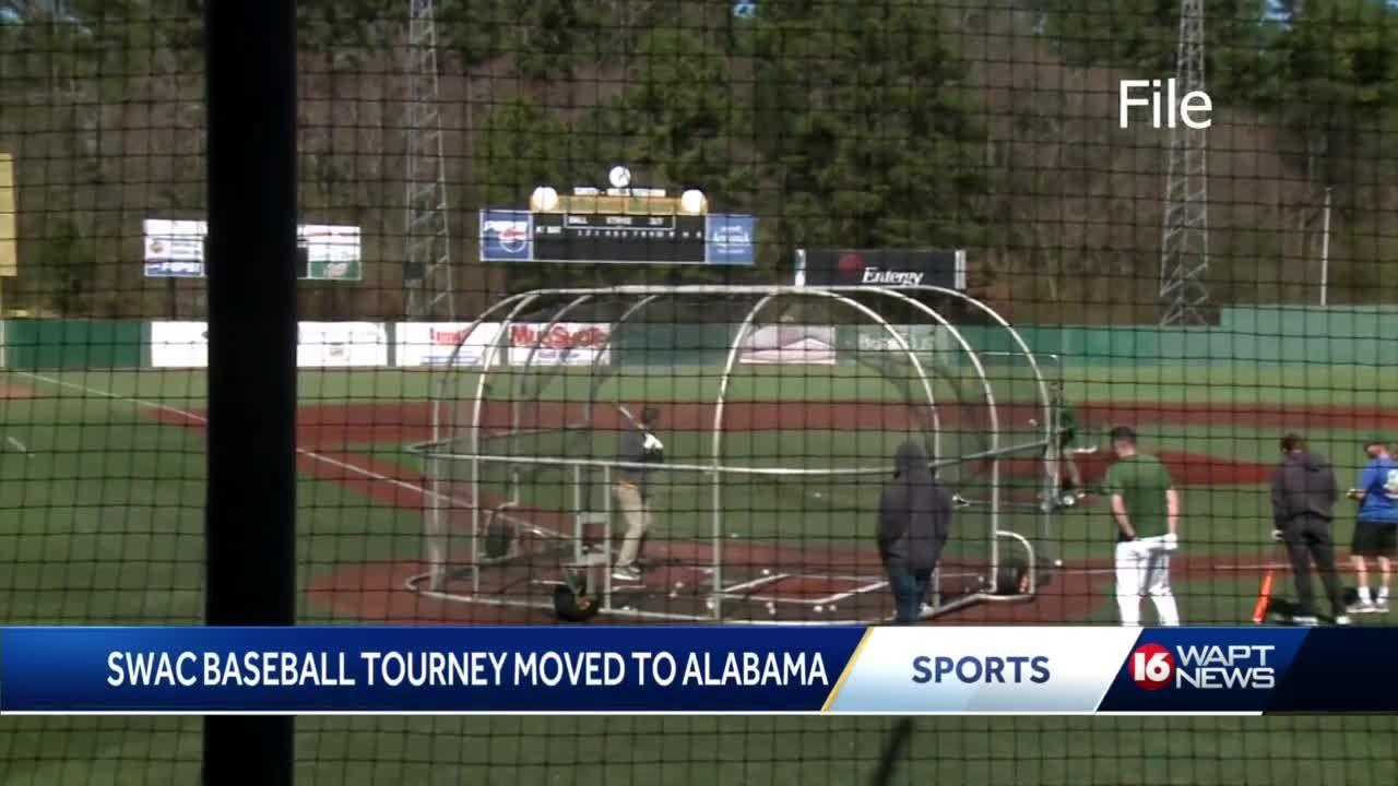 SWAC Baseball Tournament moved from Jackson