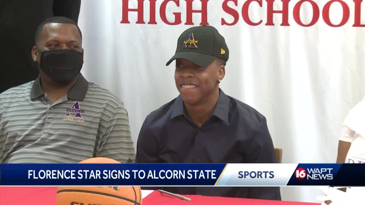 Florence star chooses Alcorn State, Hartfield standouts sign