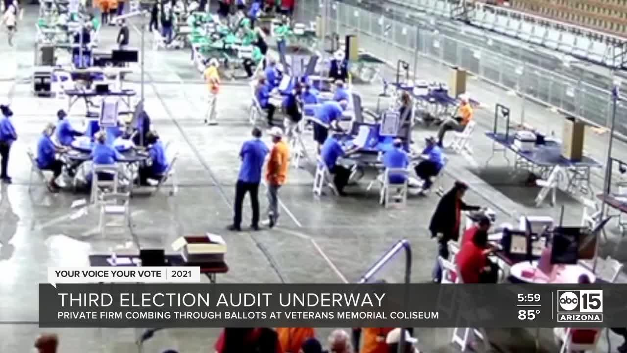 ABC15 fights for transparency as third audit of Maricopa County election begins