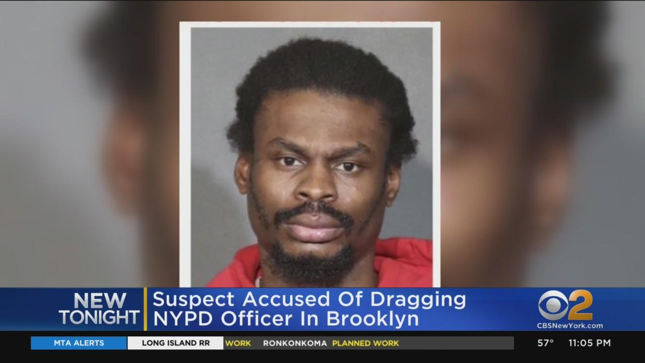 Suspect Accused Of Dragging NYPD Officer In Brooklyn