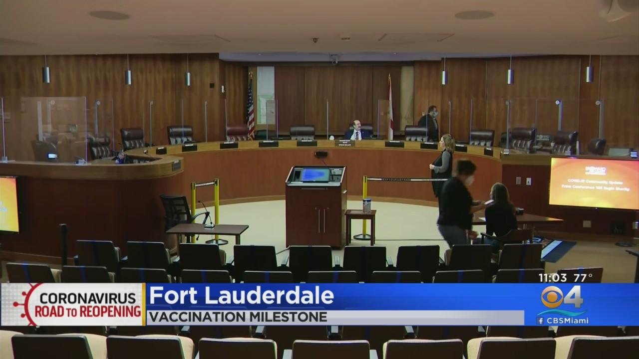 Broward County Vaccination Rate Up, Restrictions Heading Down
