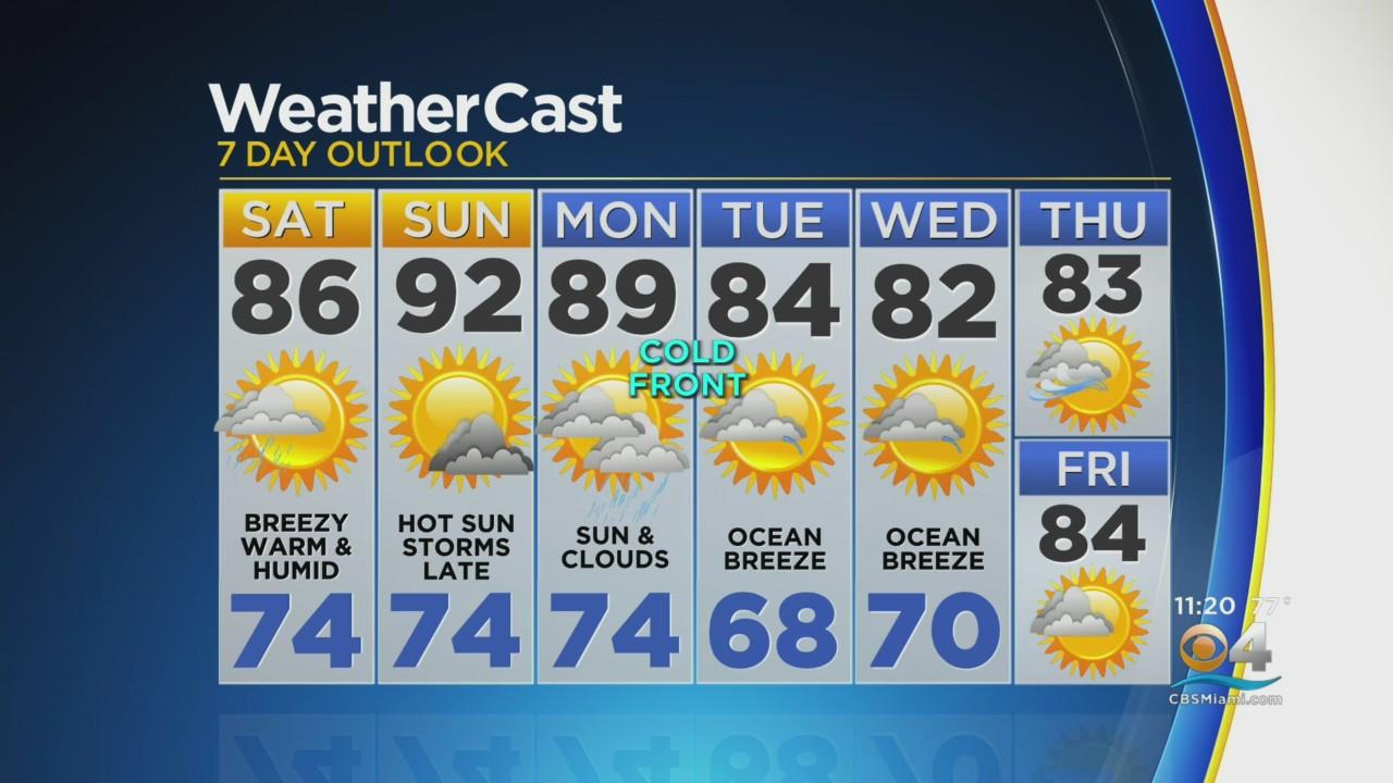 CBSMiami.com Weather @ Your Desk 4-23-21 11PM