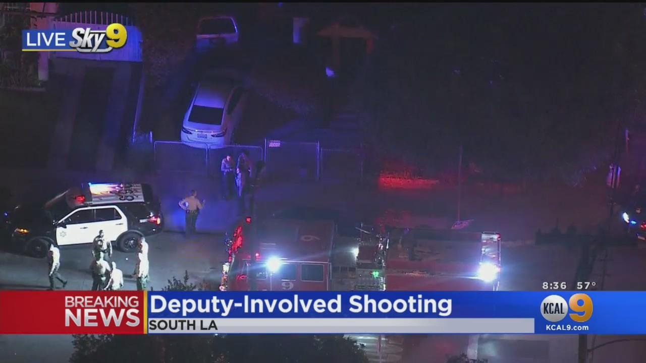 Deputy-Involved Shooting In South LA