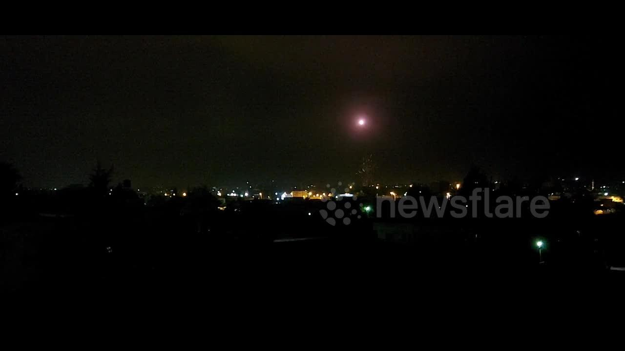 Rockets launched from Gaza as tensions between Hamas and Israel increase