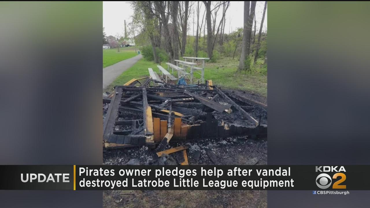 Pirates Owner Bob Nutting Pledges Held To Latrobe Little League