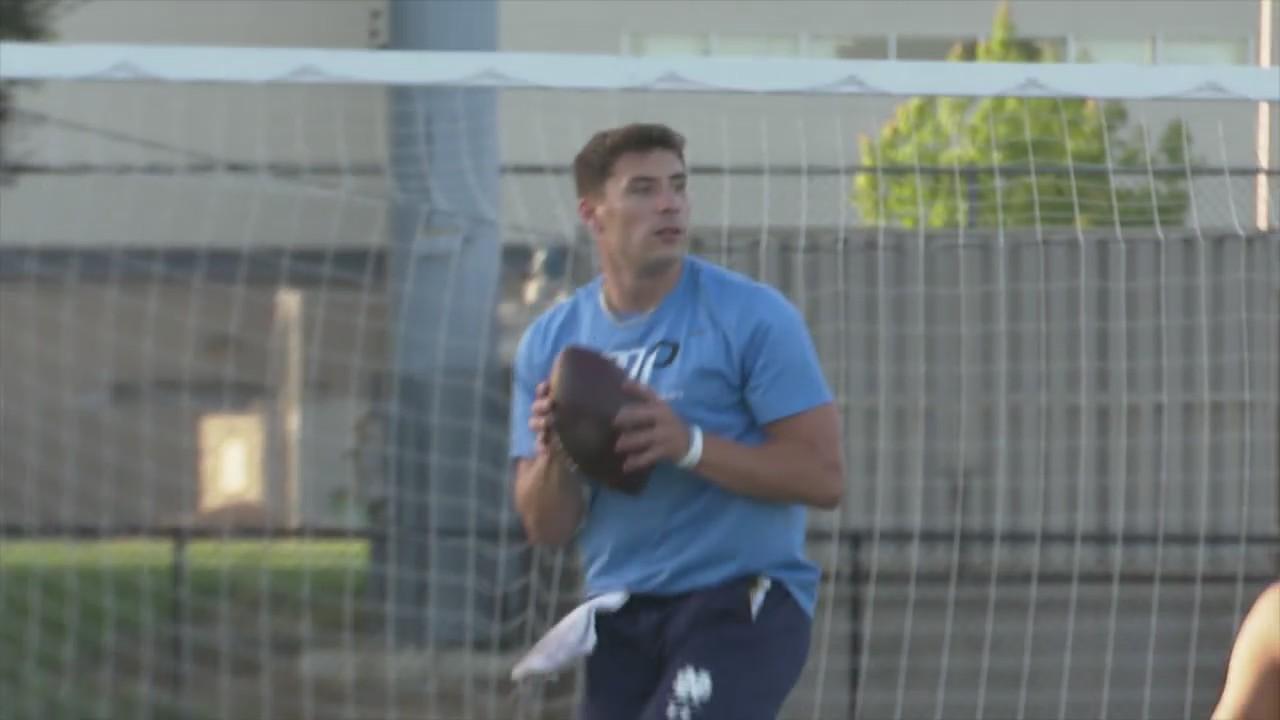 'I'm ready': Former Oak Ridge High student anticipating NFL Draft