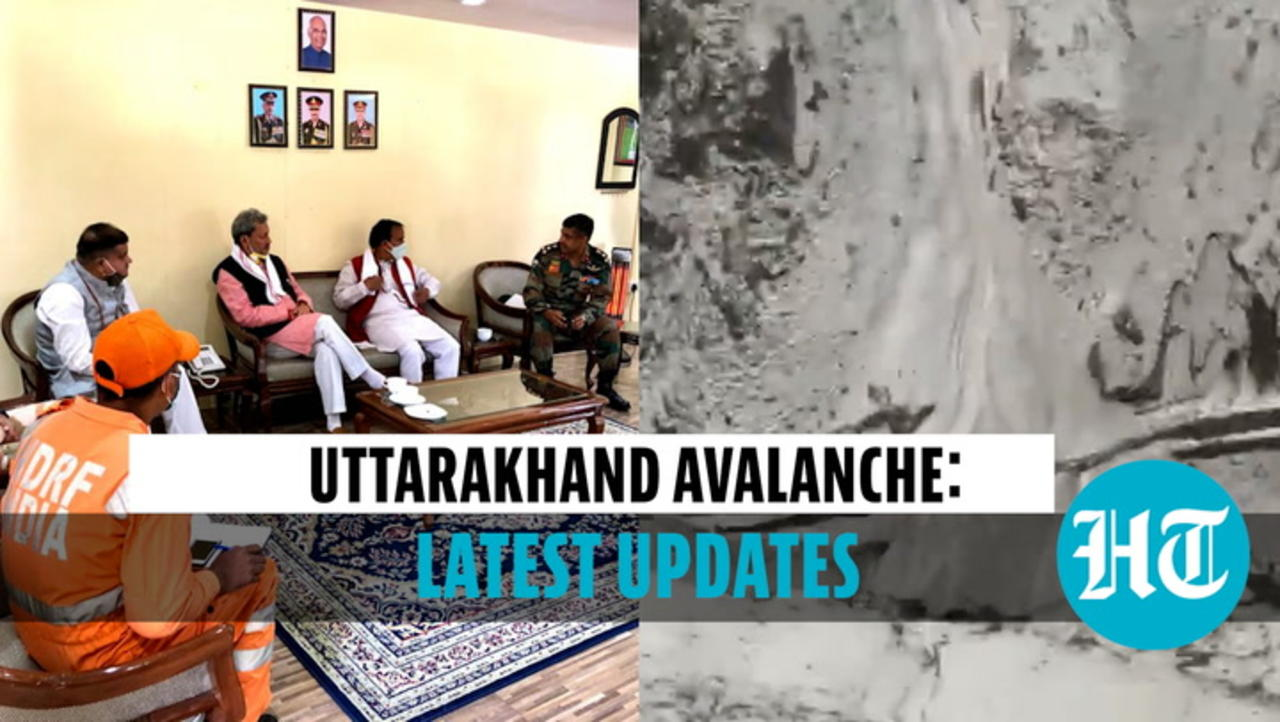 Uttarakhand: 8 killed in avalanche, 384 rescued; CM Rawat conducts aerial survey
