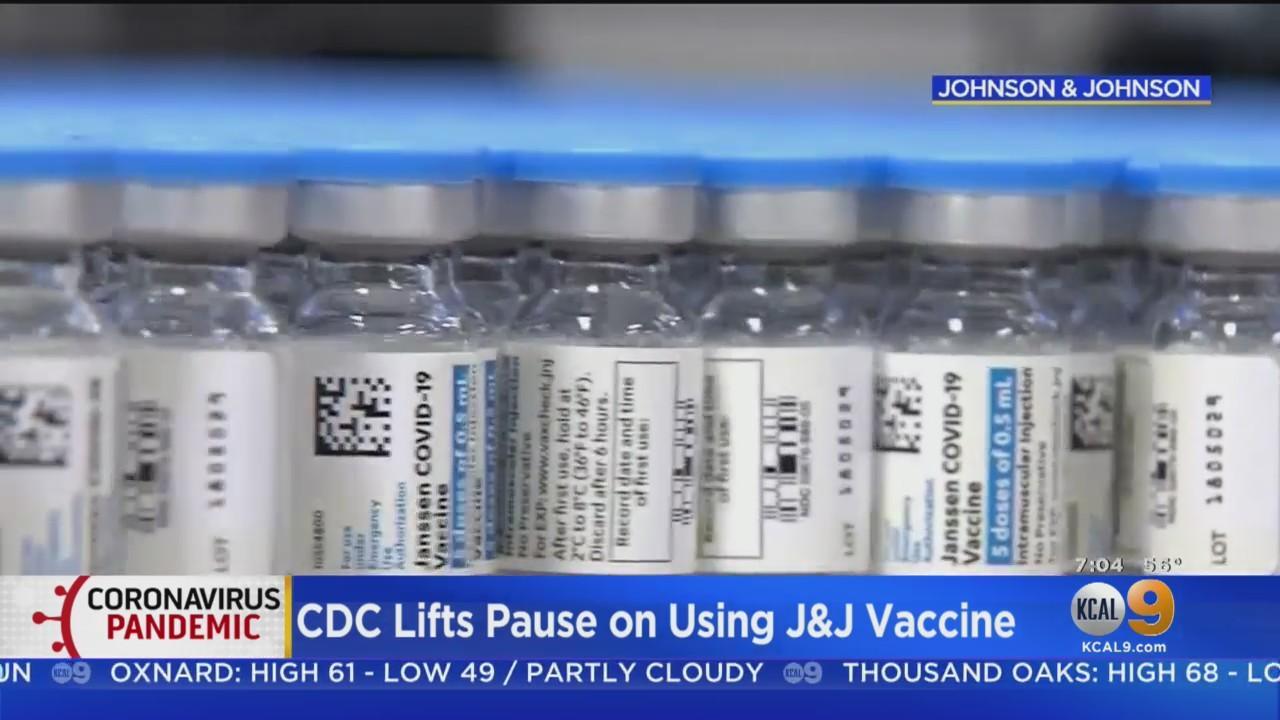 LA Resumes Use of Johnson & Johnson Vaccine