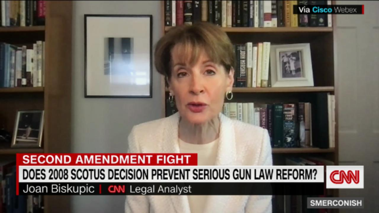 Does 2008 SCOTUS decision prevent serious gun law reform?
