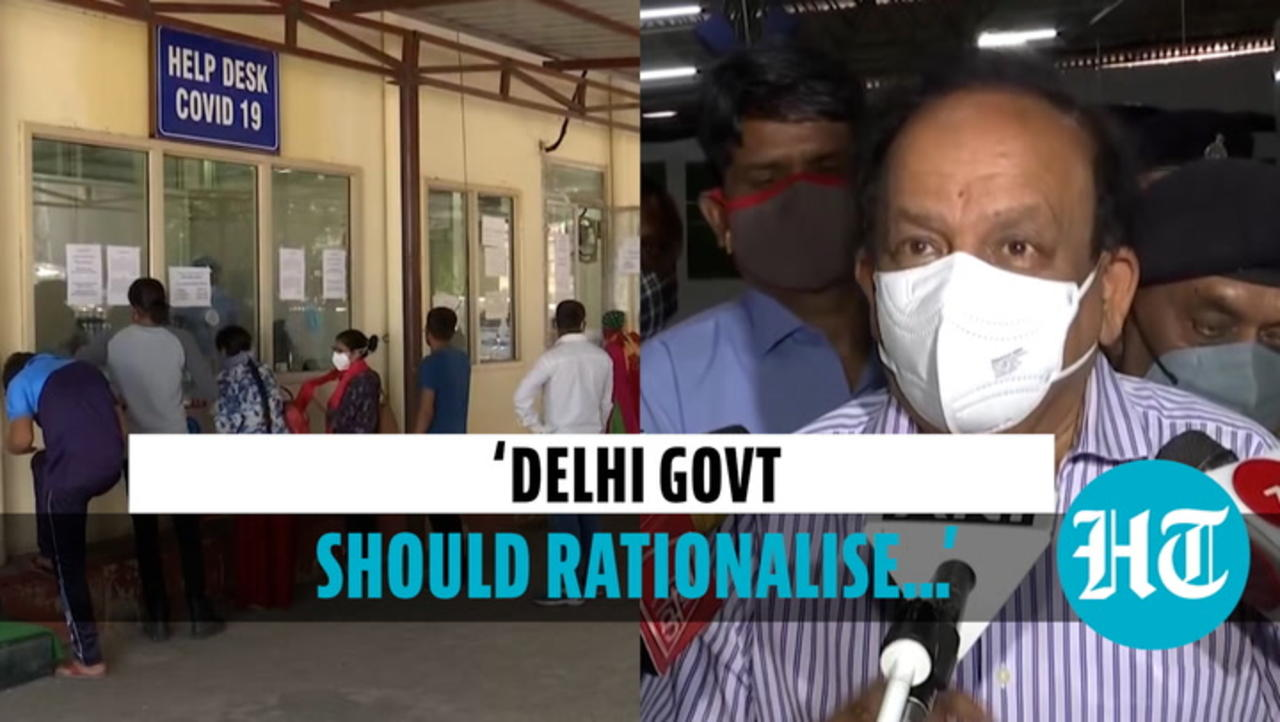 Delhi: Harsh Vardhan asks Kejriwal govt to 'rationalise oxygen distribution'