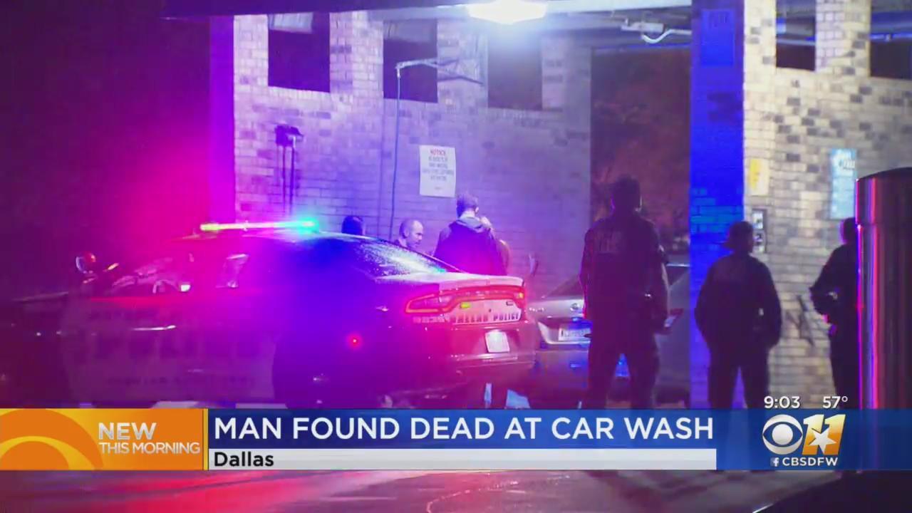 Man Found Shot To Death At Dallas Car Wash
