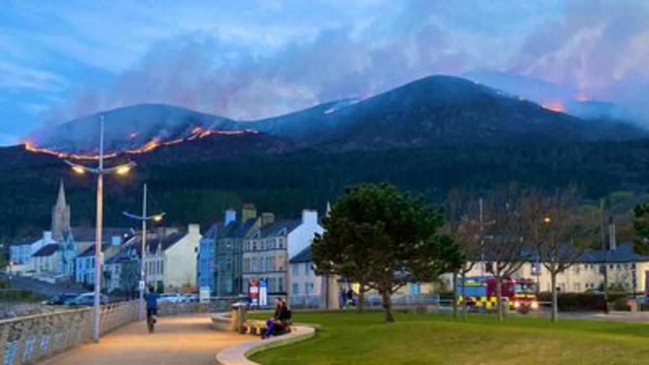 'Major incident' declared over NI wildfire