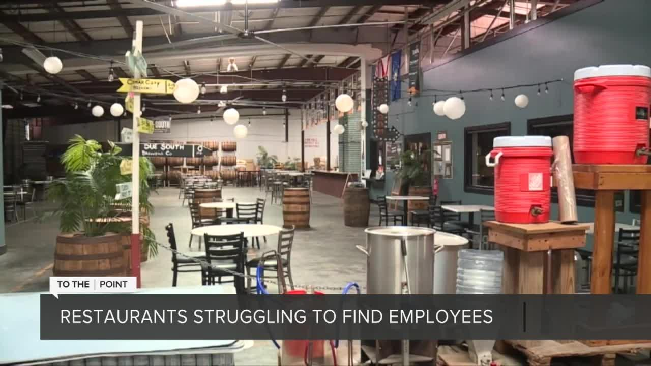 Restaurants struggle to find employees