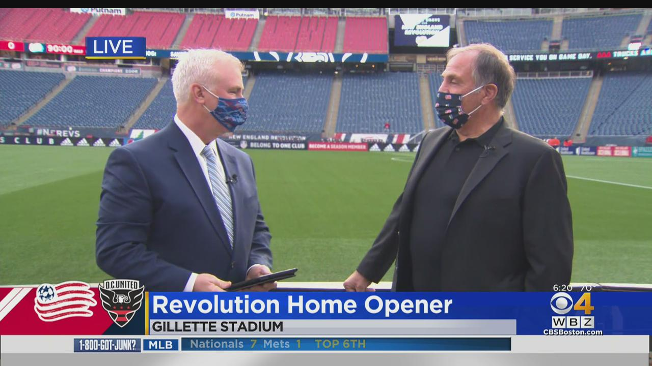 Revs Head Coach Bruce Arena Excited For Home Opener