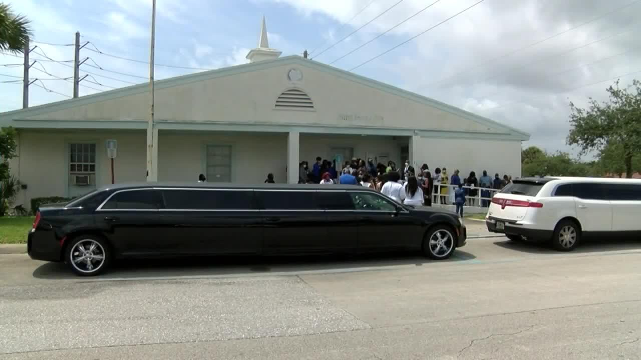 Funeral held for 7-year-old boy killed in Riviera Beach