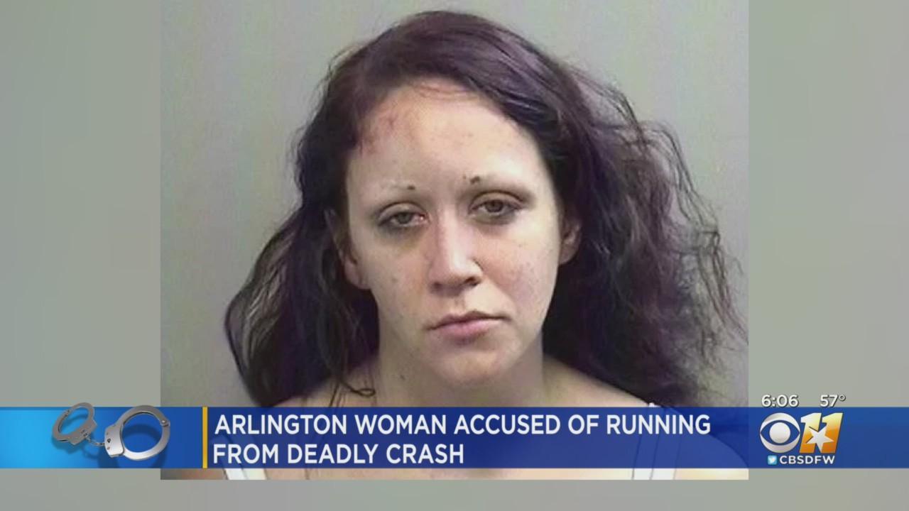 Woman Arrested In Arlington After Fleeing Crash That Killed Her Passenger, Police Say