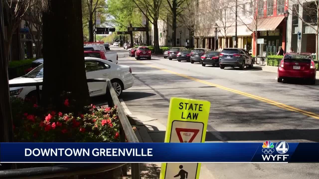 Man found dead along Main Street in Downtown Greenville
