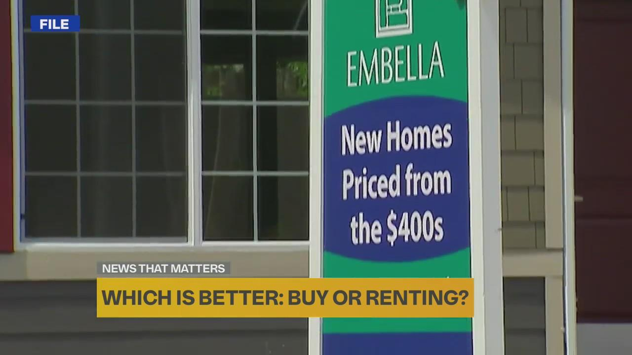 Which is better: buying or renting?