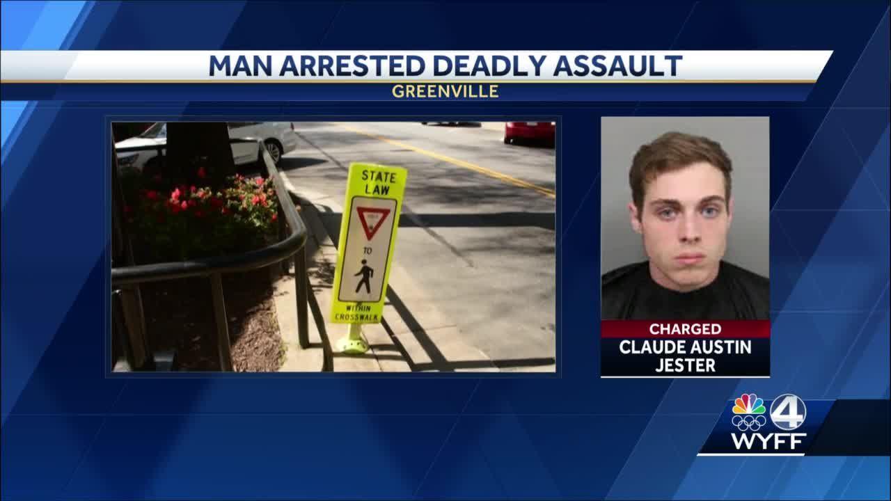 Downtown Greenville murder arrest