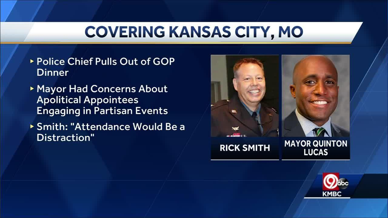 KCPD Chief Rick Smith pulls out of appearance at Jackson County Republican Party event