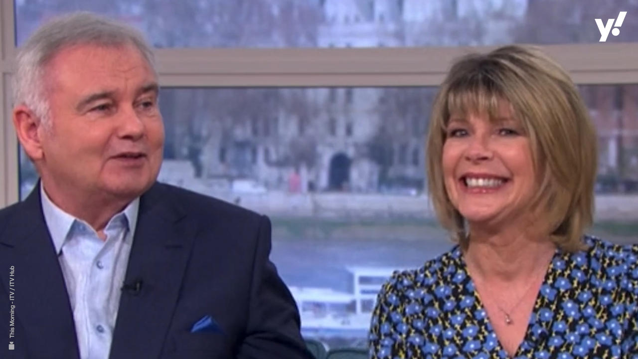 Ruth Langsford responds to This Morning viewer who criticised her treatment of Eamonn Holmes