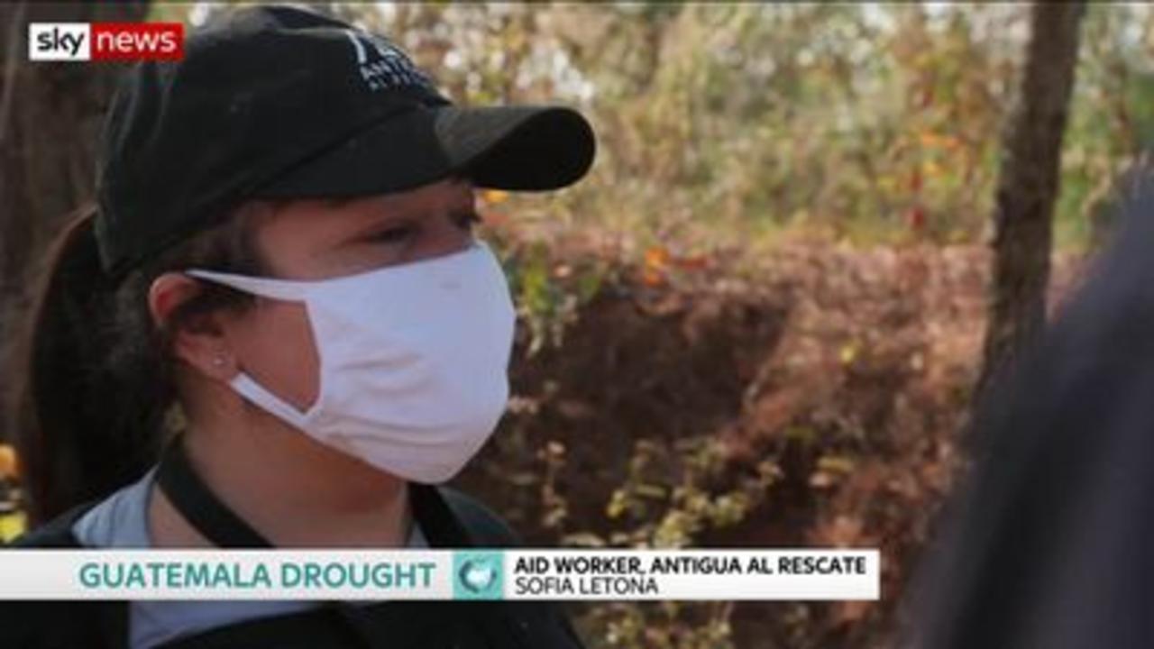 Guatemalans starve as heat kills crops