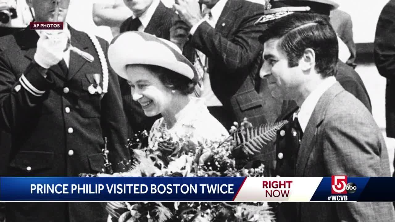 Former Massachusetts Gov. Michael Dukakis recalls Prince Philip's visit to Boston