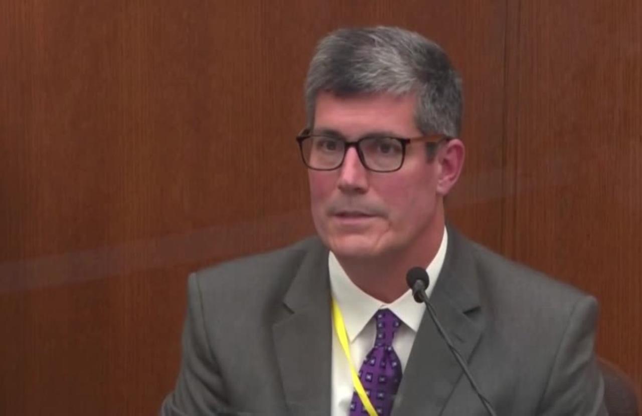 Medical examiner stands by Floyd homicide ruling