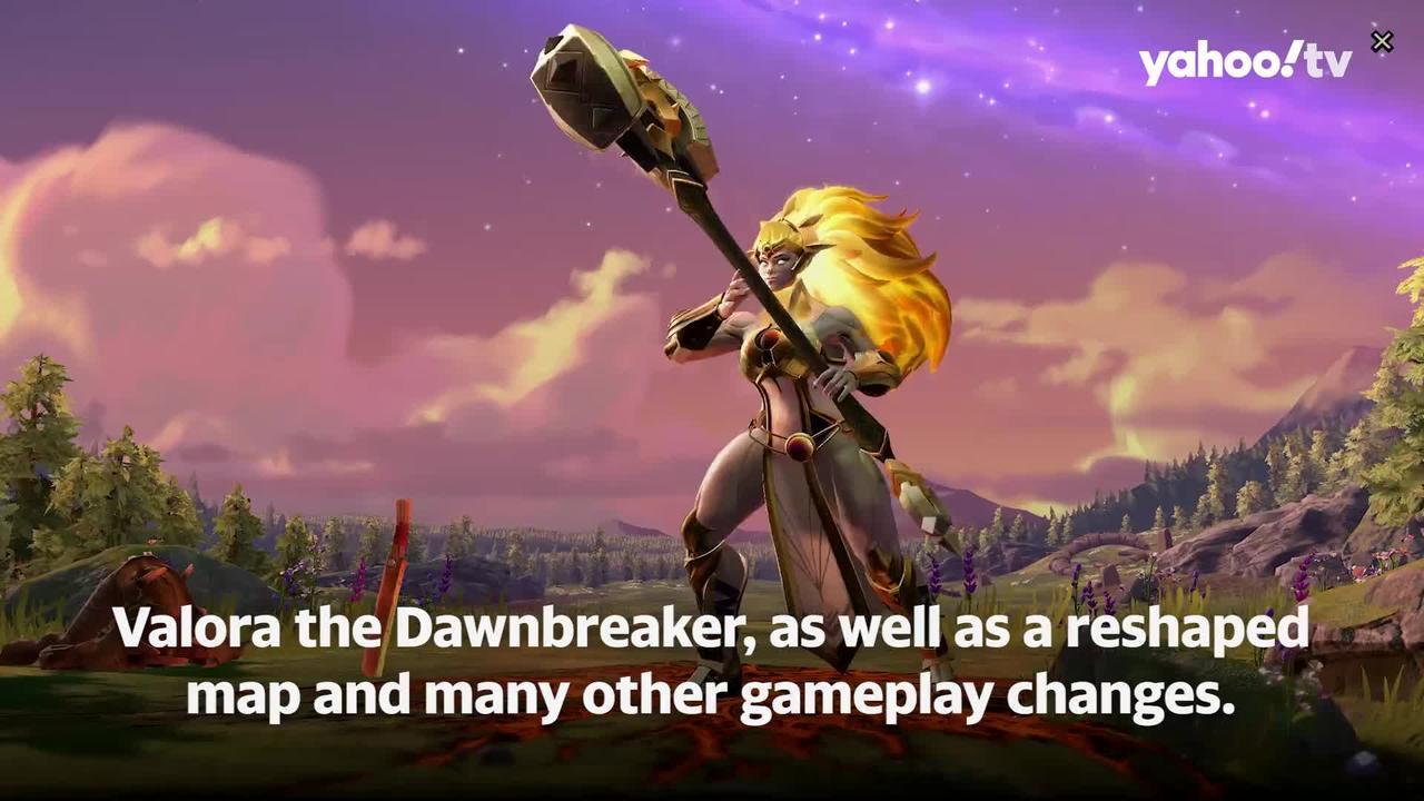 Valora the Dawnbreaker arrives in Dota 2