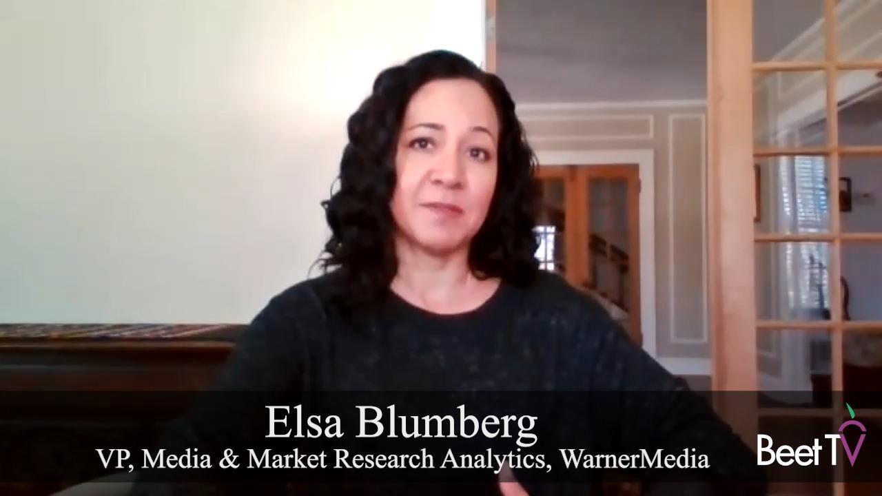 Addressable TV Isn't Just A Test Anymore: WarnerMedia's Blumberg