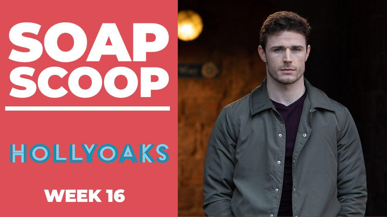 Hollyoaks Soap Scoop - George's abusive behaviour continues