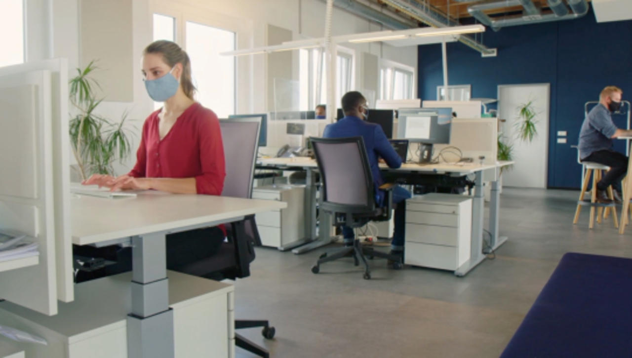 Re-Imagining Workplace Environments in a Post Covid World to Establish a Sustainable New Normal
