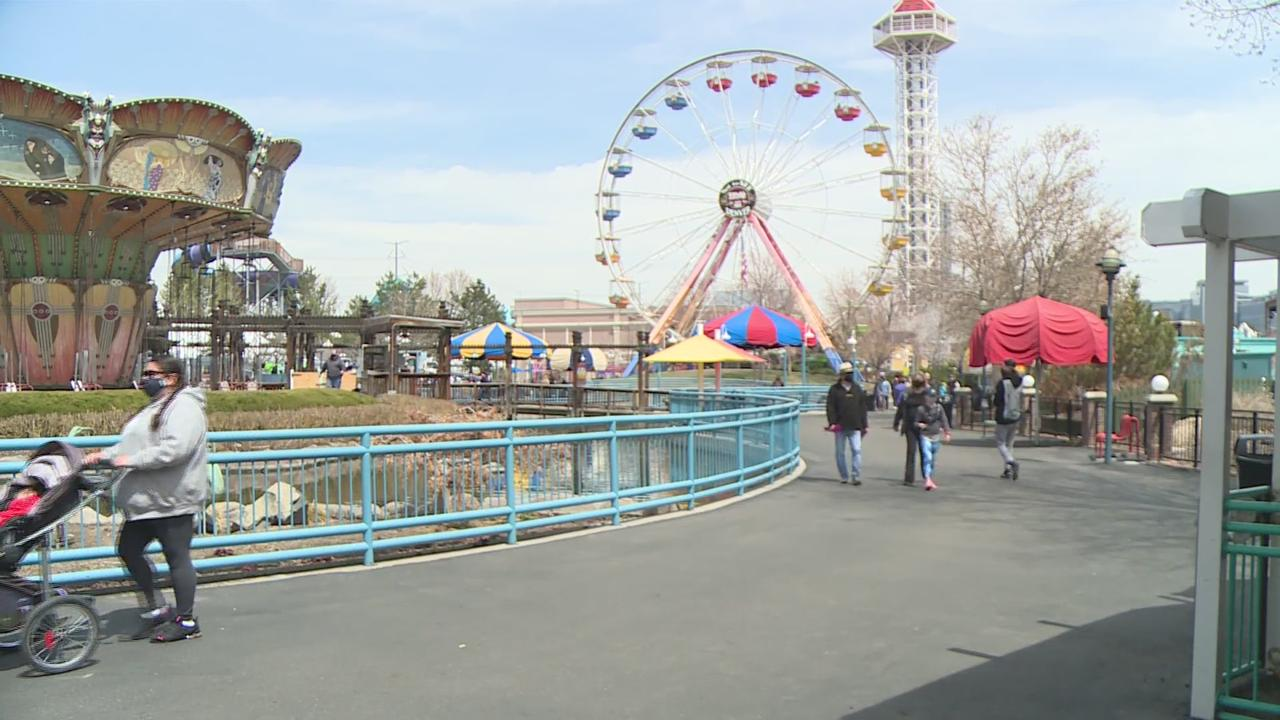 Elitch Gardens Opens To Season Passholders Only