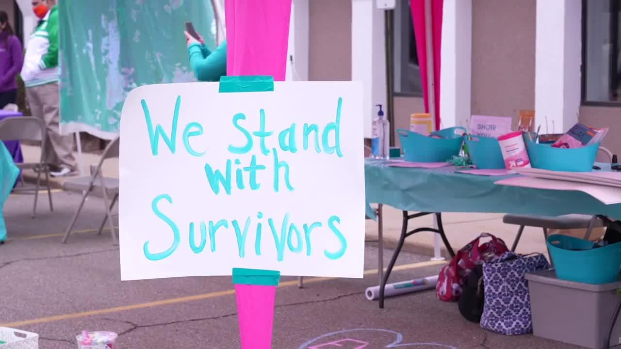 Sparrow partners with local organization to host rally supporting sexual assault and abuse survivors