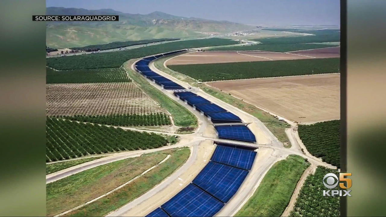 UC Researcher Proposes Covering California Aqueduct With Solar Panels