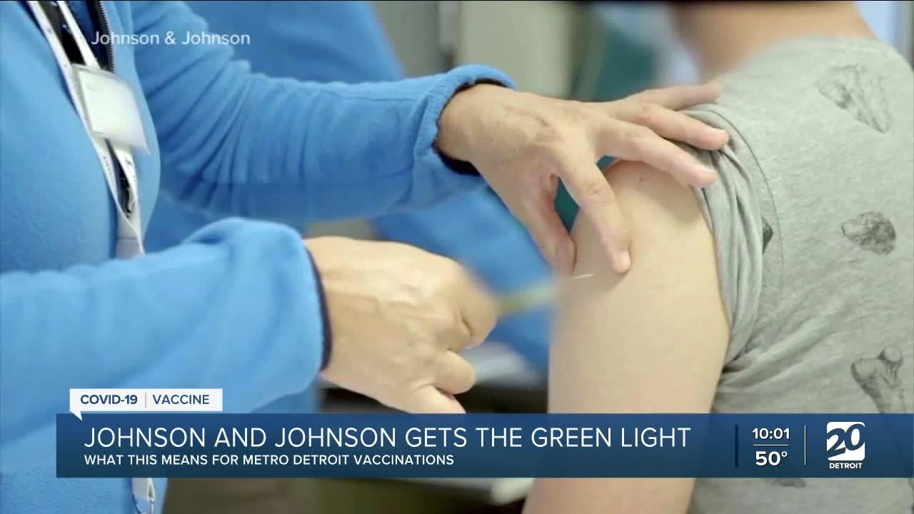 Johnson and Johnson vaccine returning to metro Detroit