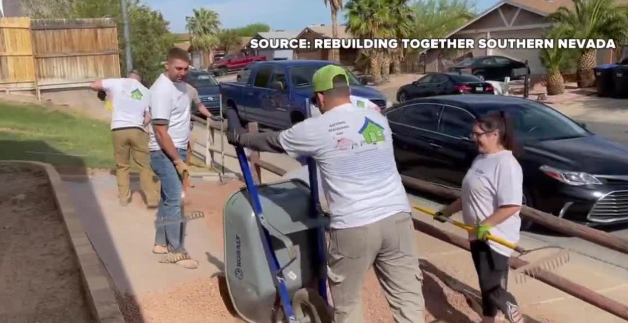 Las Vegas participates in National Rebuilding Day