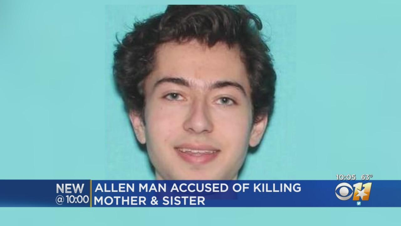 20-Year-Old Accused Of Murdering His Sister And Mother In Allen