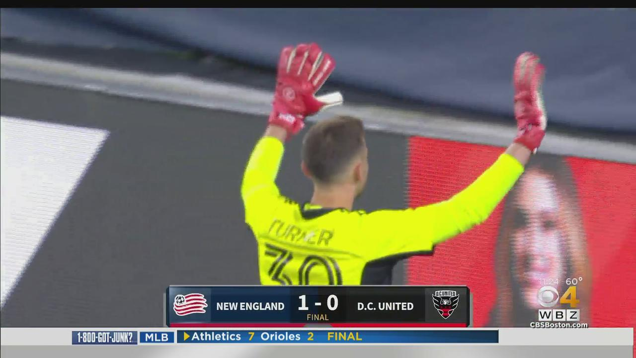 Revs Take Home Opener Over D.C. United 1-0