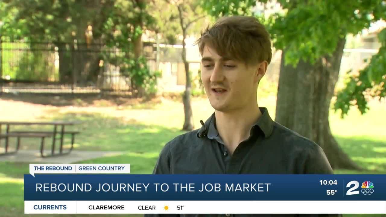 A rebound journey to the job market