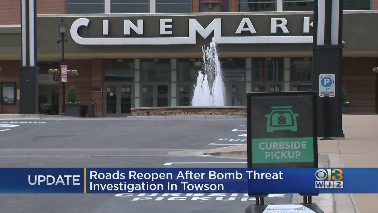 Bomb Threat At Towson Movie Theater Was A Hoax, Police Say