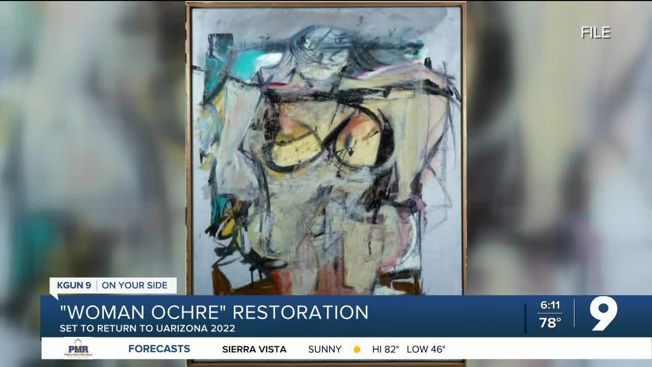'Woman Ochre' set to return to UArizona Museum of Art in 2022