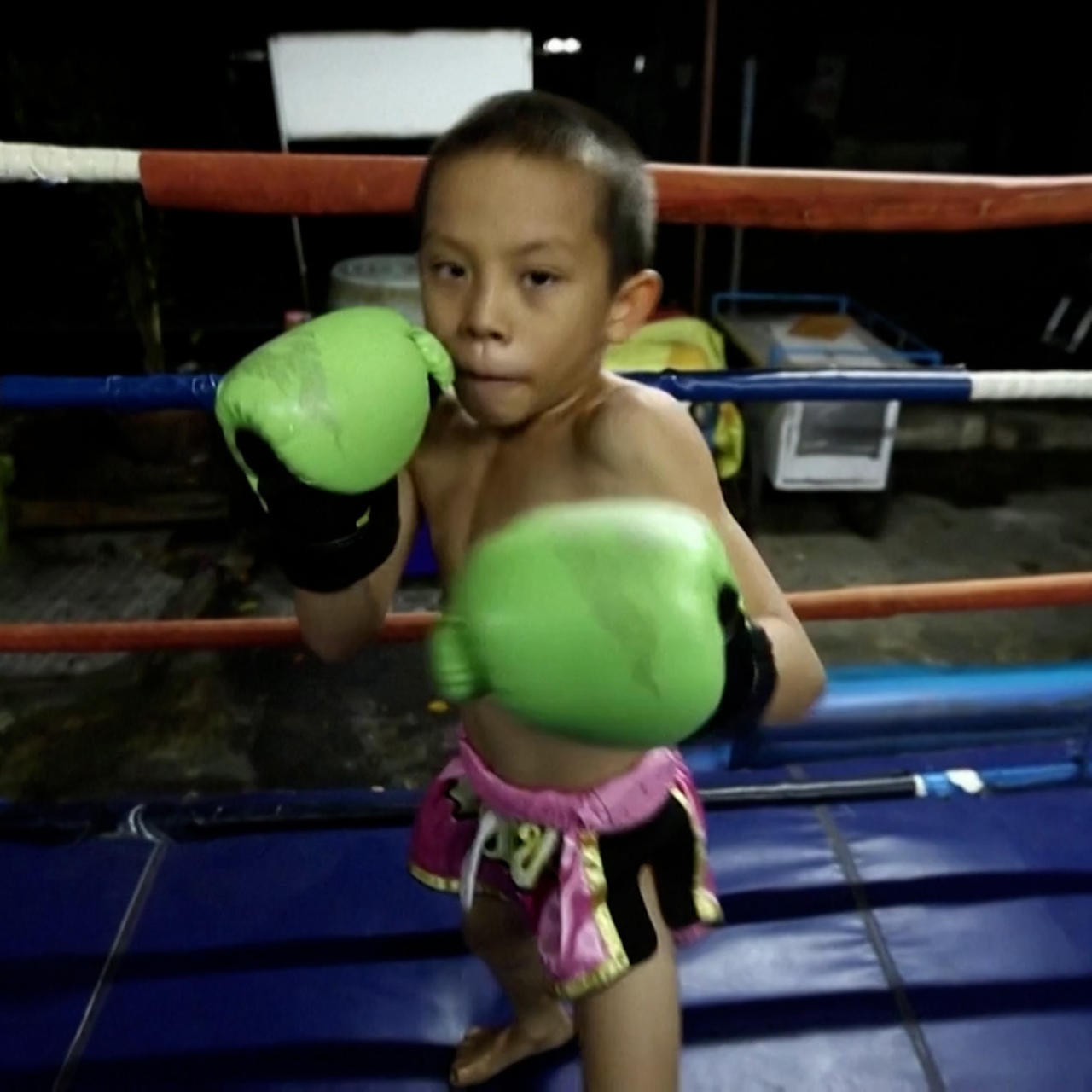 Meet the 9-year-old boxing breadwinner