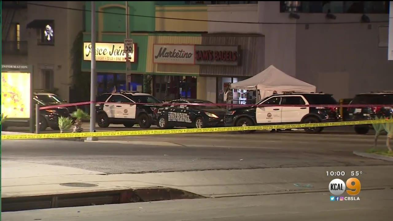 Deadly Officer-Involved Shooting In Hollywood Shuts Down Part Of Sunset Boulevard